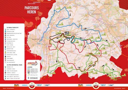 Amstel Gold race 2019 – Útvonal