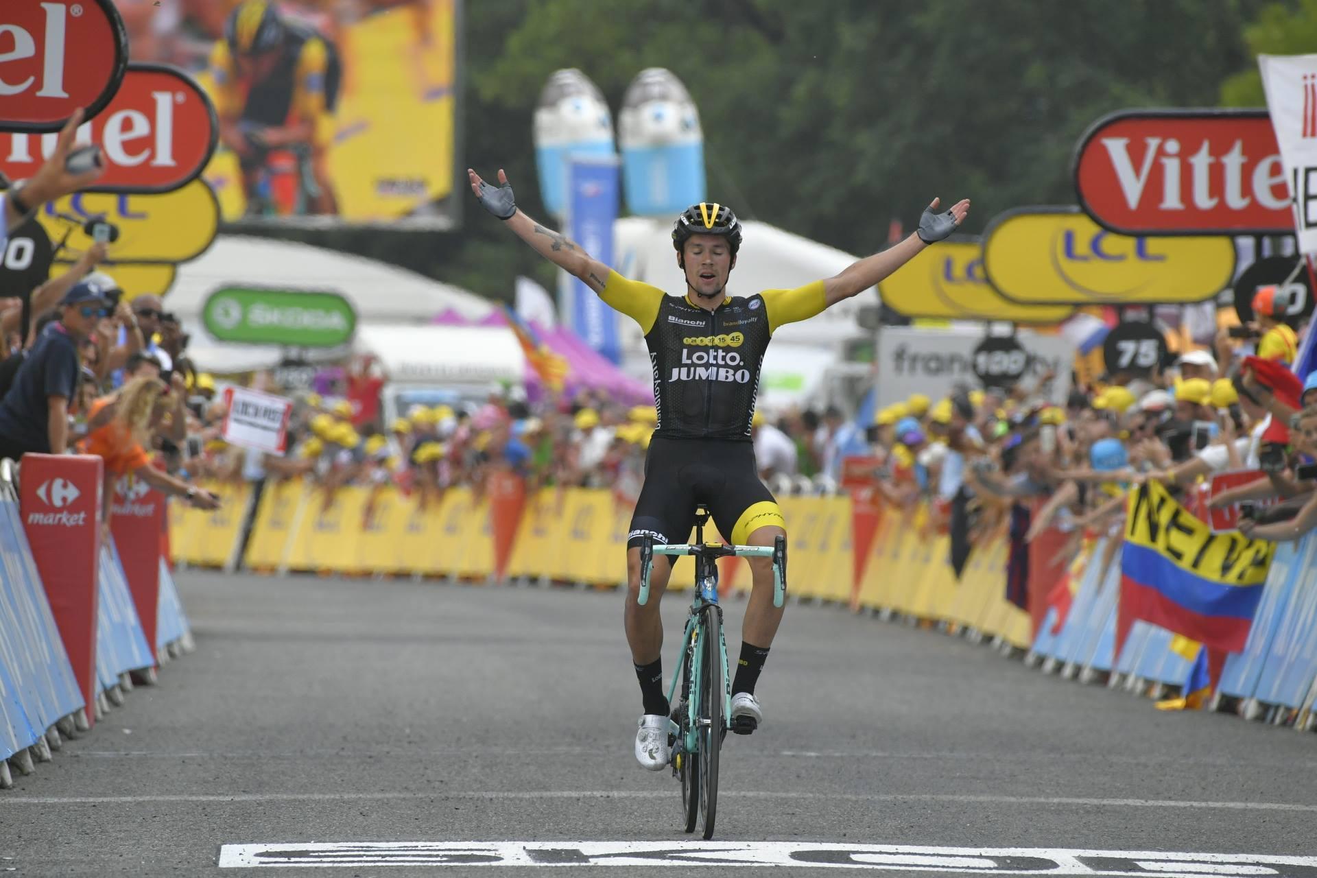 Primoz Roglic Giro d'Italiát akar nyerni
