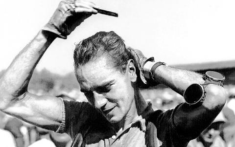 A fésülködős svájci leiskolázza Bobet-t, Coppit és Bartalit (Tour de France 1951)