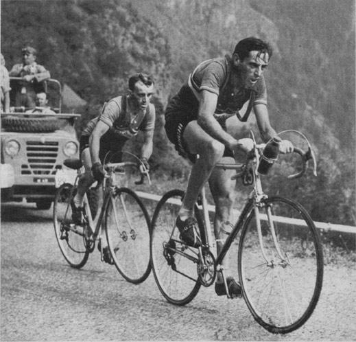 Alpe d'Huez debütálása  (Tour de France, 1952)