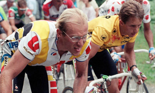 Laurent Fignon és Greg LeMond