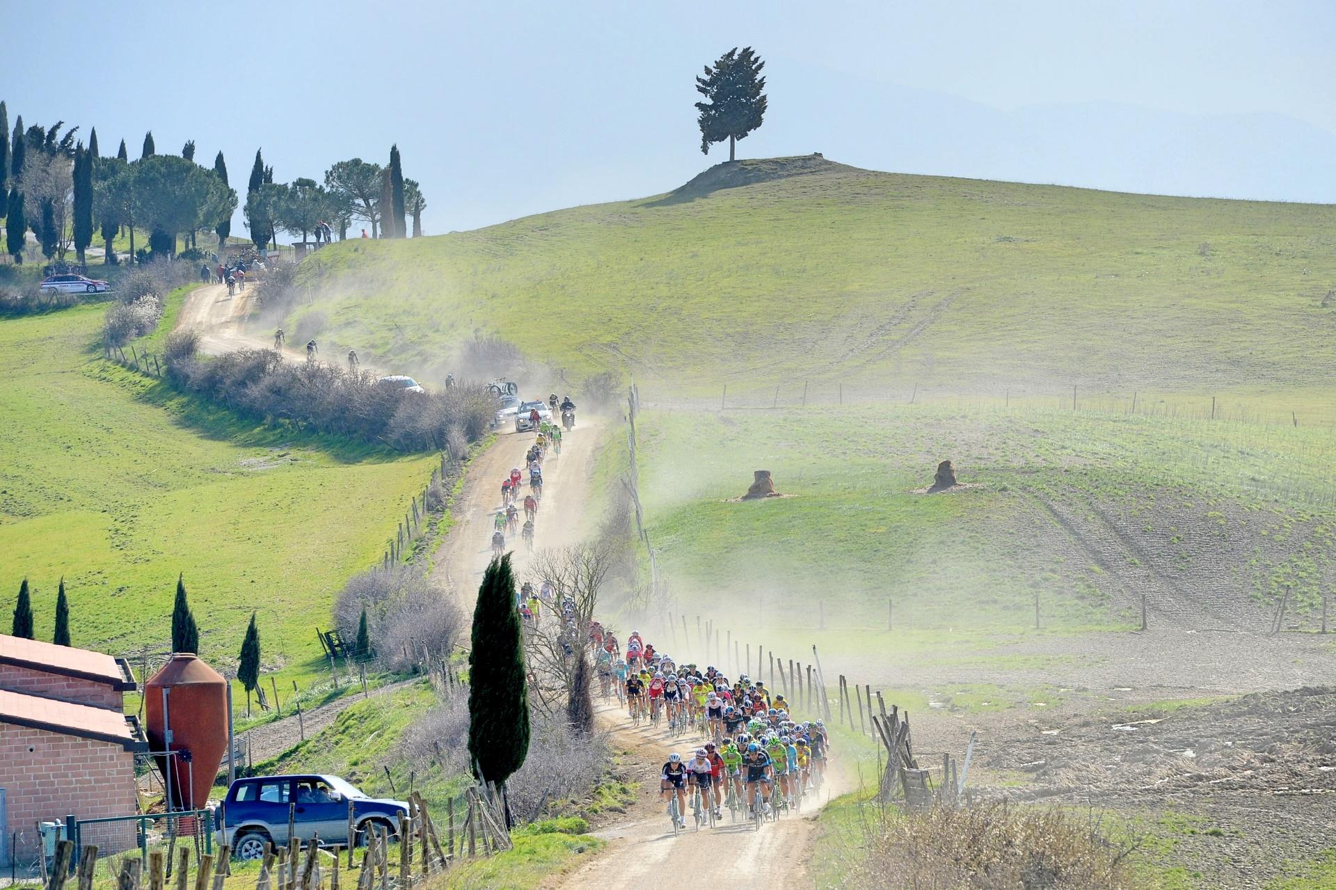 Strade Bianche  – Top 3 verseny
