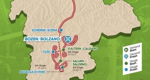 Tour of the Alps 2019 – útvonal