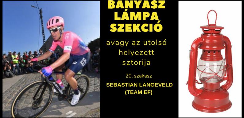 Bányászlámpa-szekció -Tour de France 2019 – 20. szakasz – Sebastien Langeveld (Team EF1)