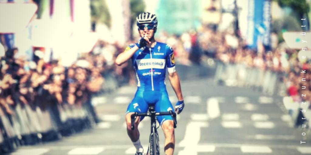Remco Evenepoel az év belga versenyzője