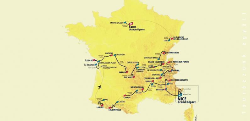 Tour de France 2020 – Az útvonal