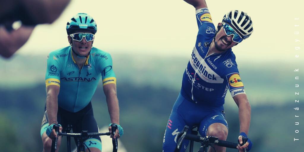 Julian Alaphilippe feladta a Vuelta a San Juant