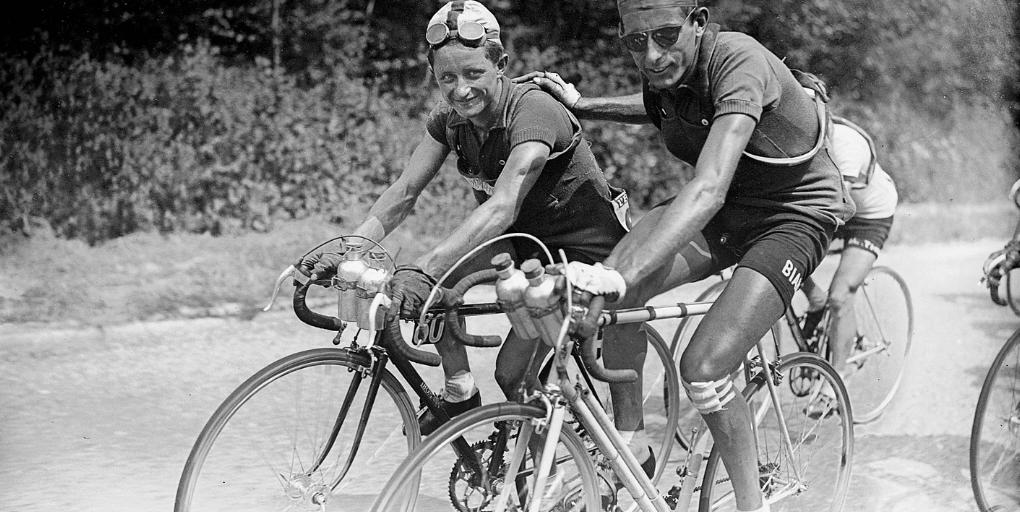 Jacques Marinelli és Fausto Coppi