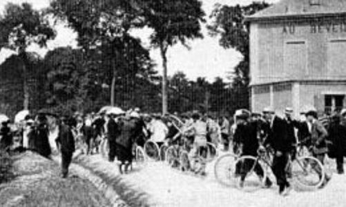 Az első Tour de France rajtja