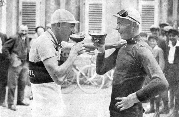 André Leducq és Nicolas Frantz az 1928-as Tour de France-on