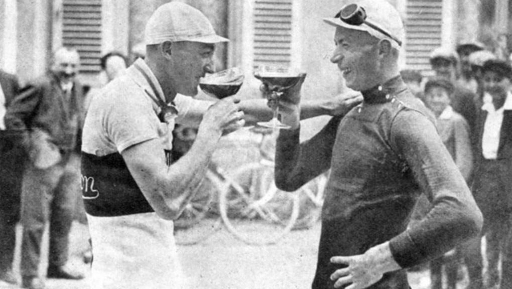 Vitange kerékpáros fotó Tour de France 1928-ból