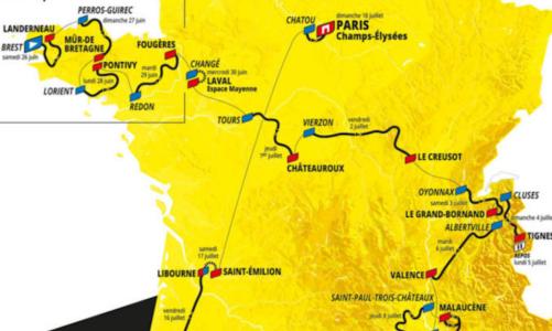 Tour de France 2021 – útvonal