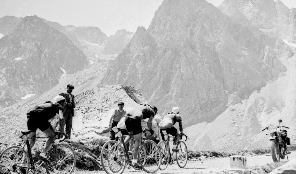 Col du Tourmalet az 1937-es Tour de France-on