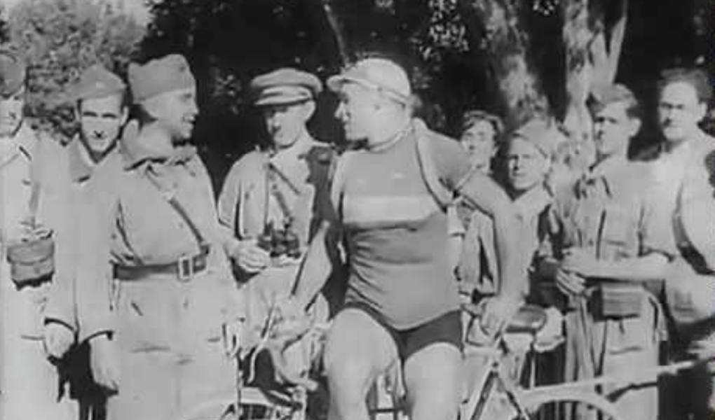 A spanyol körverseny kétszeres győztese Julián Berrendero 1941-ben