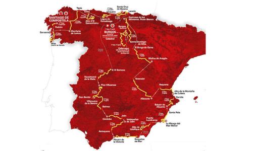 La Vuelta 2021 – az útvonal
