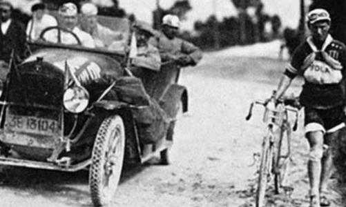 A Giro d'Italia, amelyet csak nyolcan fejeztek be