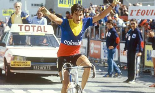 Luis Herrera Alpe d'Huez