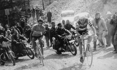 Federico Bahamontes és Jacques Anquetil Tour de France 1963