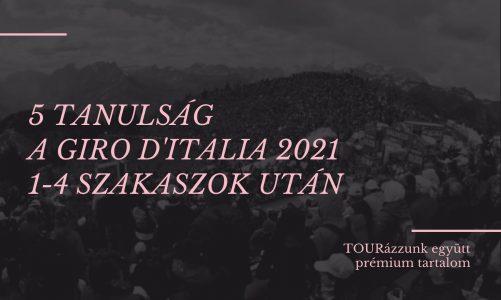 Giro d'Italia 2021 elemzés: 5 tanulság az 1-4. szakaszok után